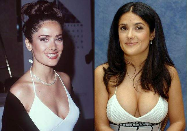 salma-hayek-plastic-surgery-salma-hayek-before-after-photos-breast-implants-breast-augmentation-salma-hayek-photos-cosmetic-surgery-nose-job-rhinoplasty0