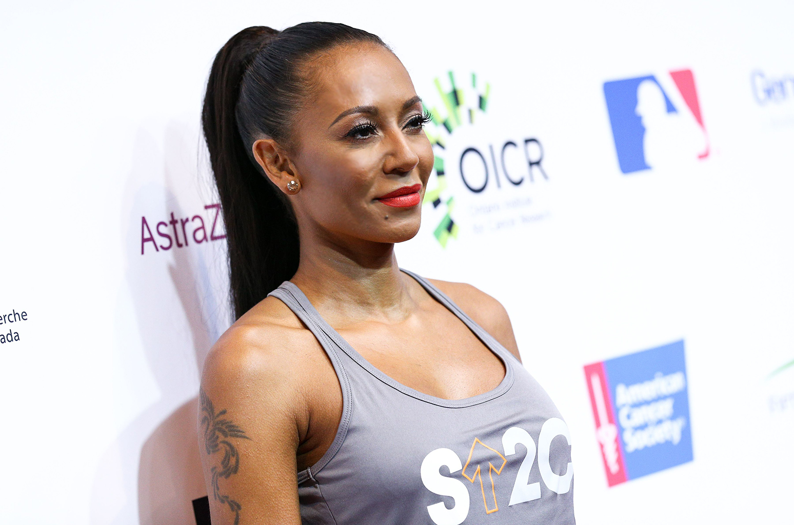 Mandatory Credit: Photo by John Salangsang/BFA/REX/Shutterstock (5895377hx) Melanie Brown Stand Up To Cancer event, Arrivals, Los Angeles, USA - 09 Sep 2016